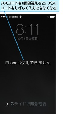 Iphone パス コード 忘れ た 場合